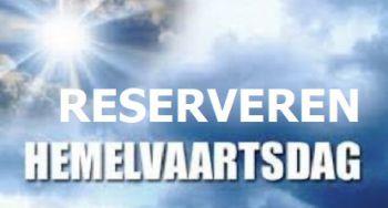 RESERVEREN vieringen HEMELVAARTSDAG 13 mei 2021