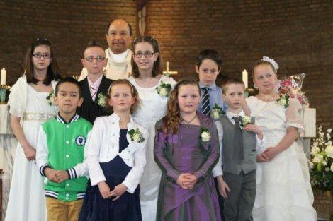 Eerste Heilige Communie in Hoek van Holland