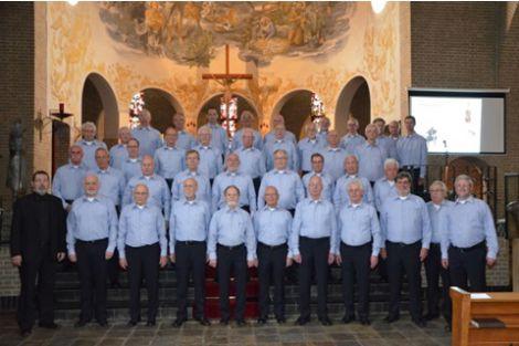 Uitstekend mannenkoor bij concert in Bartholomeuskerk
