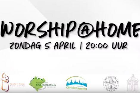 Hey, heb jij al gehoord over Worship@Home?