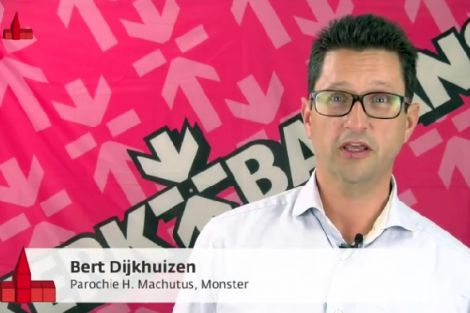 Penningmeester H. Machutusparochie met filmpje over Kerkbalans: Geef voor je kerk