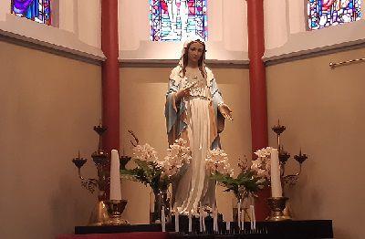 Een bijzonder Maria beeld in Kwintsheul