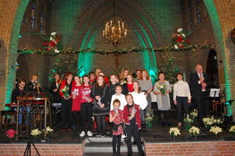 Sfeervol kerstconcert in De Lier