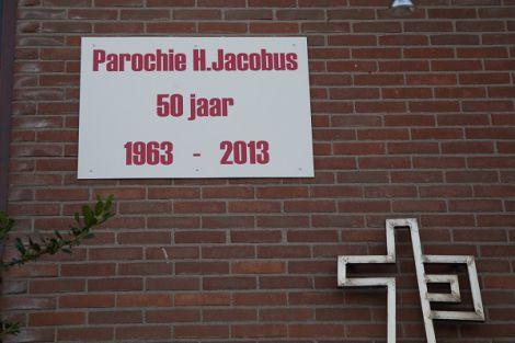Feestelijke jubileumviering in de H. Jacobusparochie