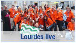 Volg onze 39 pelgrims op weg naar Lourdes