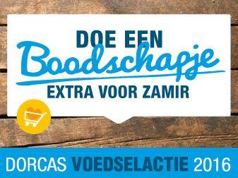 Dorcas Voedselactie op 5 november in Honselersdijk