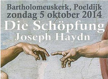 """""""Die Schöpfung"""" van Haydn in Poeldijkse kerk"""
