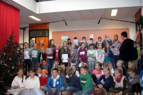 Kerstmusical voor vrijwilligers parochie