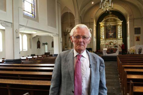 Piet Damen 65 jaar koorzanger in Monster