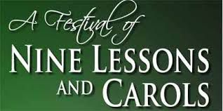 """The Festival of nine Lessons and Carols"""