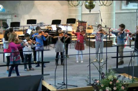 StringWise: jonge violisten spelen de sterren van de hemel!
