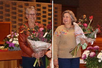 De Elisabethpenning voor Lia Schulte en Jeanette Duyvesteyn