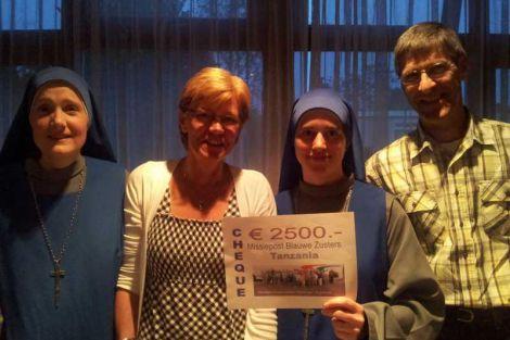 Kringloopwinkel Wateringen-Kwintsheul deelt geld uit aan goede doelen