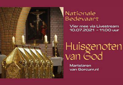 Uitnodiging voor de Nationale Bedevaart Brielle met gebedskaart (download)