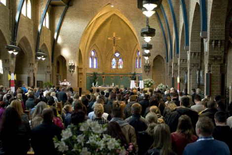 Eucharistieviering in de Poolse taal met Kerstmis