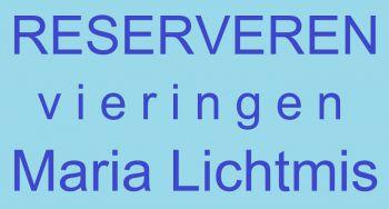 RESERVEREN VERPLICHT vieringen MARIA LICHTMIS dinsdag 2 februari