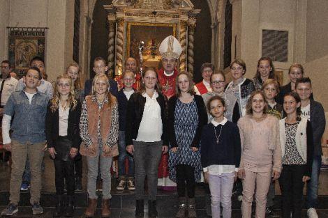 Vormeling gevormd in H. Machutus kerk te Monster