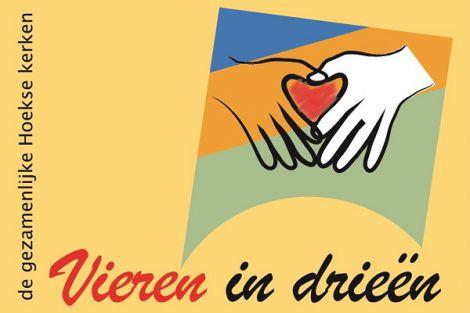 'VIEREN IN DRIEËN' in Hoek van Holland