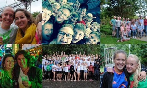 Openluchtviering Maasdijk: Vriendelijkheid straalt!