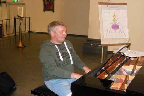 25 jaar organist / pianist van parochiekoor