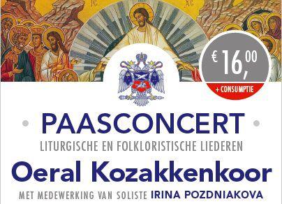Optreden Oeral Kozakkenkoor in Bartholomeuskerk Poeldijk