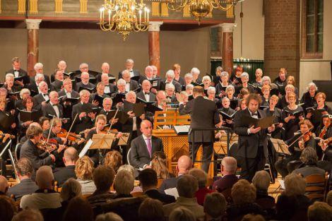 Lukas Passion in de Oude Kerk van Naaldwijk