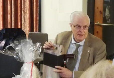 Afscheid van pastor Van Waasdijk