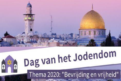 Thema Dag van het Jodendom 17 januari 2020 is 'bevrijding en vrijheid'