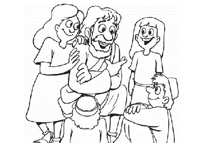 Kleutervertelviering: Vaderdag