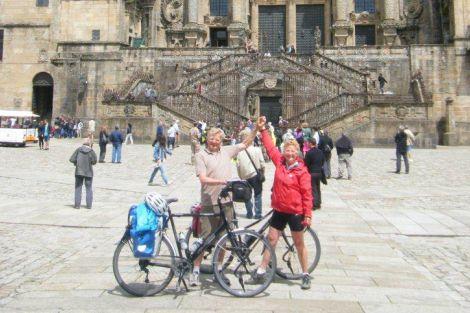 Piet en Ellen zijn weer terug uit Santiago de Compostela!