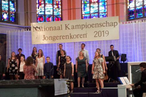 Tweede plaats bij de compositieprijs voor pianist van Jongerenkoor Corbulo