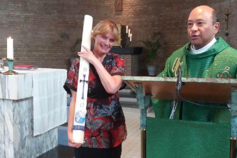 Maria de Munck neemt afscheid van parochiebestuur