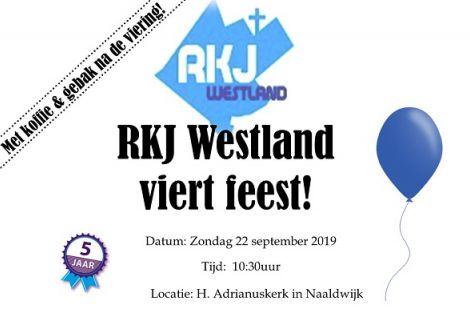 RKJ Westland viert feest !