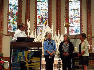 Vrijwilligers zijn 'de smeerolie' van de parochie