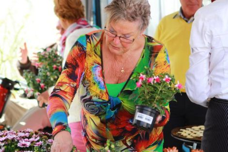 De voorjaarsmarkt van onze parochiegemeenschap