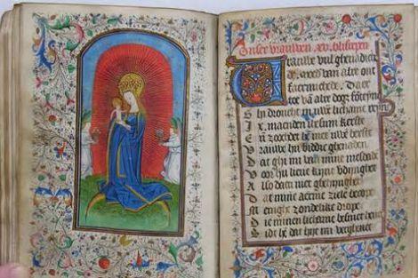 Marialof in Onze Lieve Vrouw van Goeden Raad kerk te Honselersdijk