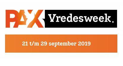 Vredesweek 2019: 'Vrede verbindt over grenzen' en Vredesfestival